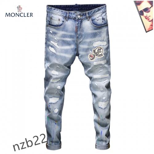 Moncler Jeans For Men #867378 $48.00 USD, Wholesale Replica Moncler Jeans