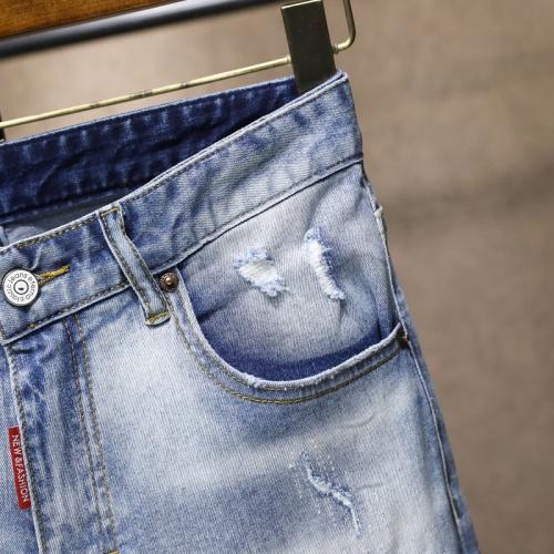 Replica Moncler Jeans For Men #867378 $48.00 USD for Wholesale