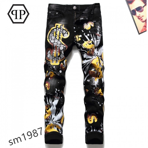 Philipp Plein PP Jeans For Men #867380