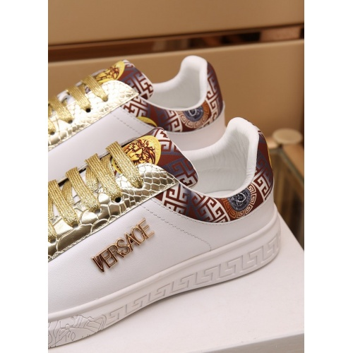 Replica Versace Casual Shoes For Men #867561 $85.00 USD for Wholesale