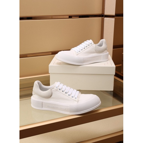 Alexander McQueen Shoes For Women #867582 $85.00 USD, Wholesale Replica Alexander McQueen Shoes