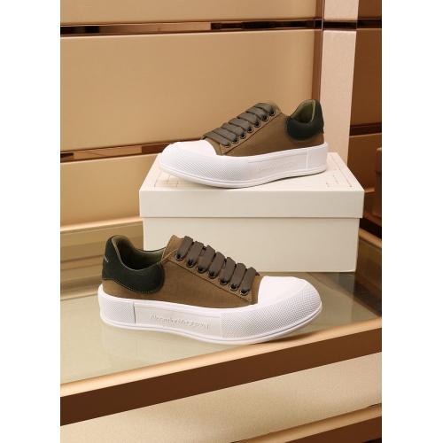 Alexander McQueen Shoes For Women #867584 $85.00 USD, Wholesale Replica Alexander McQueen Shoes