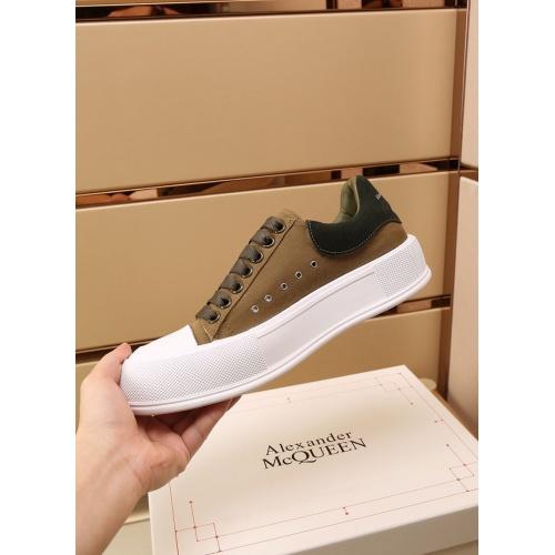 Replica Alexander McQueen Shoes For Women #867584 $85.00 USD for Wholesale