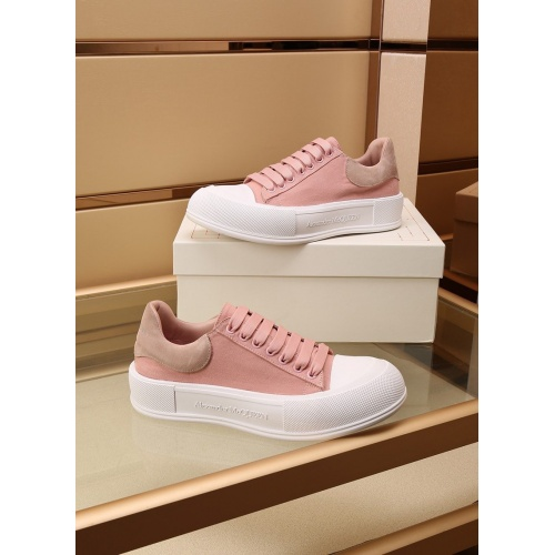 Alexander McQueen Shoes For Women #867585 $85.00 USD, Wholesale Replica Alexander McQueen Shoes