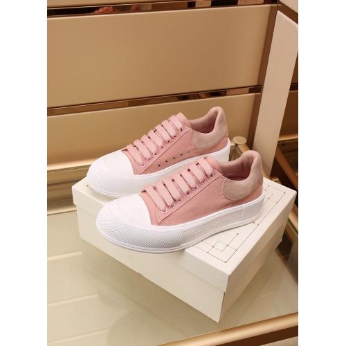 Replica Alexander McQueen Shoes For Women #867585 $85.00 USD for Wholesale