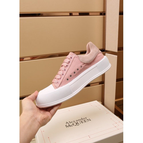 Replica Alexander McQueen Shoes For Women #867585 $85.00 USD for Wholesale