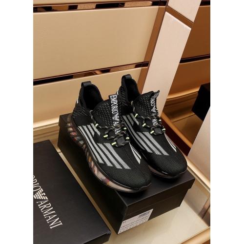 Armani Casual Shoes For Men #867586 $88.00 USD, Wholesale Replica Armani Casual Shoes