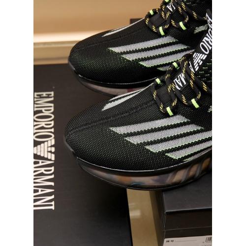 Replica Armani Casual Shoes For Men #867586 $88.00 USD for Wholesale