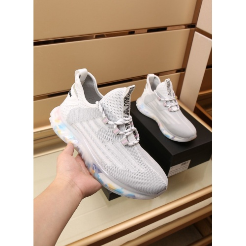 Replica Armani Casual Shoes For Men #867587 $88.00 USD for Wholesale