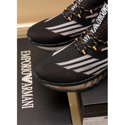 Replica Armani Casual Shoes For Men #867588 $88.00 USD for Wholesale