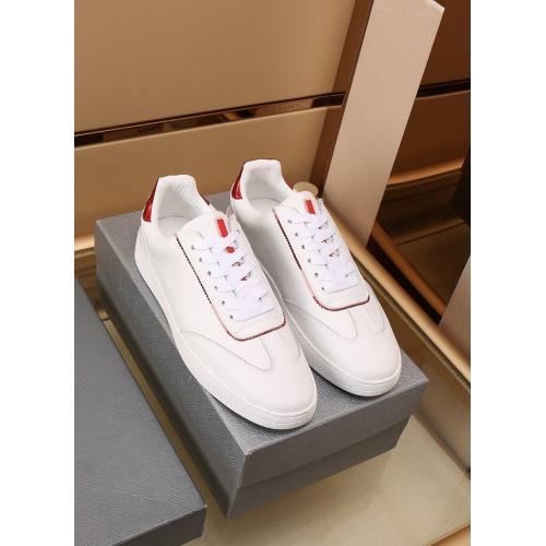 Prada Casual Shoes For Men #867653 $85.00 USD, Wholesale Replica Prada Casual Shoes