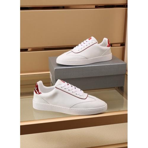 Replica Prada Casual Shoes For Men #867653 $85.00 USD for Wholesale