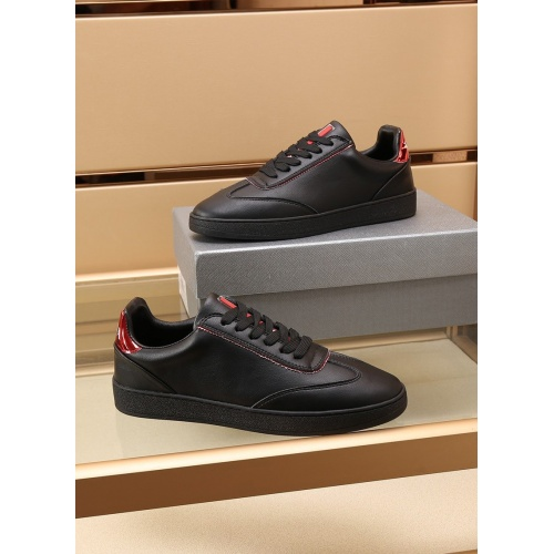 Replica Prada Casual Shoes For Men #867654 $85.00 USD for Wholesale
