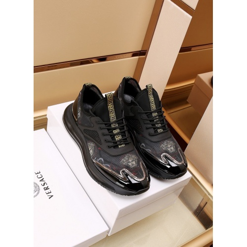 Versace Casual Shoes For Men #867656 $88.00 USD, Wholesale Replica Versace Casual Shoes