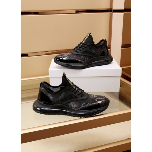 Replica Versace Casual Shoes For Men #867656 $88.00 USD for Wholesale