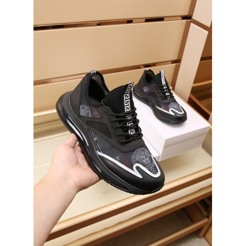 Replica Versace Casual Shoes For Men #867657 $88.00 USD for Wholesale