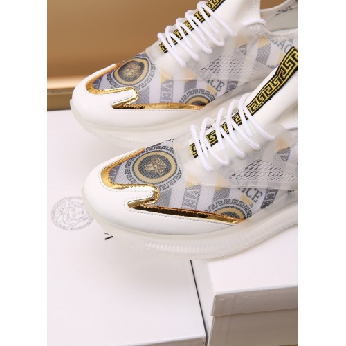 Replica Versace Casual Shoes For Men #867658 $88.00 USD for Wholesale