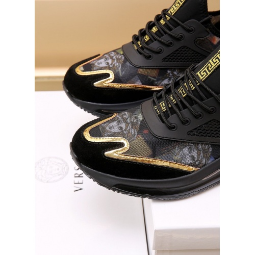 Replica Versace Casual Shoes For Men #867659 $88.00 USD for Wholesale