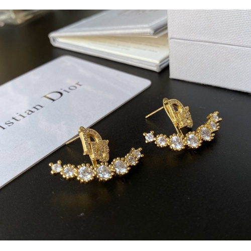 Christian Dior Earrings #867782 $32.00 USD, Wholesale Replica Christian Dior Earrings
