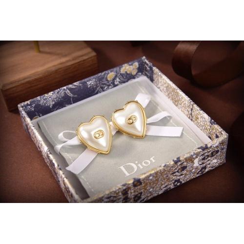 Christian Dior Earrings #867783 $32.00 USD, Wholesale Replica Christian Dior Earrings
