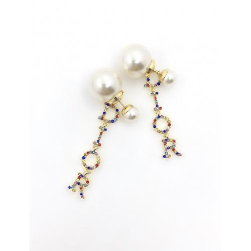 Christian Dior Earrings #867784 $34.00 USD, Wholesale Replica Christian Dior Earrings