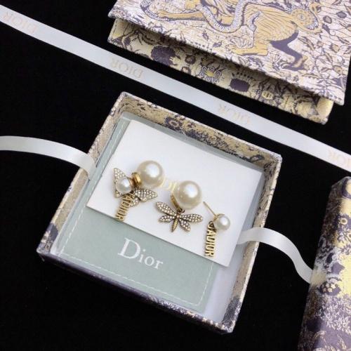 Christian Dior Earrings #867785 $34.00 USD, Wholesale Replica Christian Dior Earrings