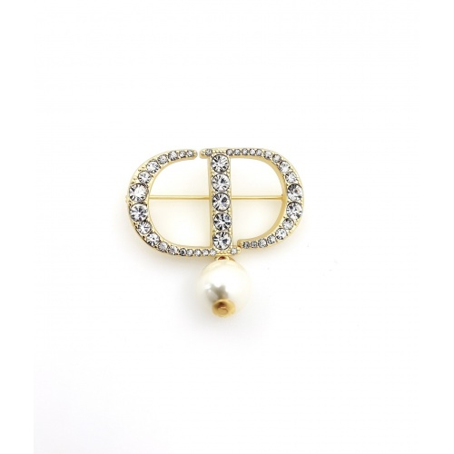 Christian Dior Brooches #867812 $27.00 USD, Wholesale Replica Christian Dior Brooches