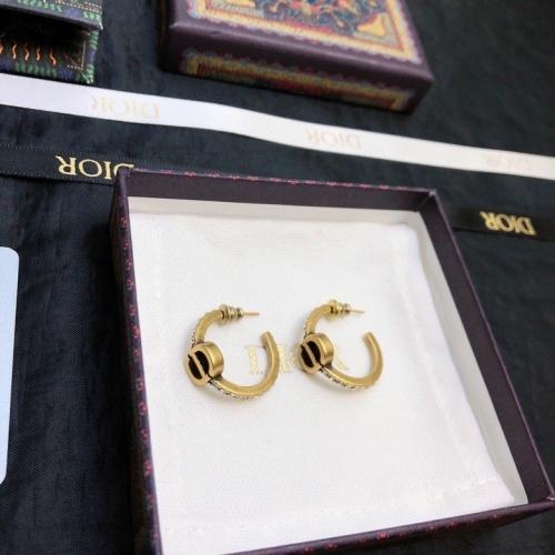 Christian Dior Earrings #867855 $29.00 USD, Wholesale Replica Christian Dior Earrings