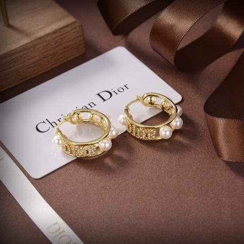 Christian Dior Earrings #867856 $32.00 USD, Wholesale Replica Christian Dior Earrings