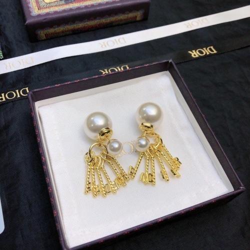 Christian Dior Earrings #867861 $34.00 USD, Wholesale Replica Christian Dior Earrings