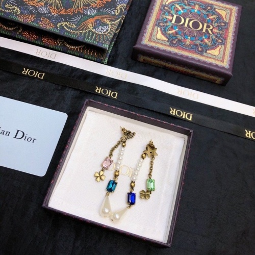 Christian Dior Earrings #867866 $36.00 USD, Wholesale Replica Christian Dior Earrings