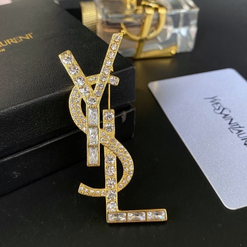 Yves Saint Laurent Brooches #867871 $32.00 USD, Wholesale Replica Yves Saint Laurent Brooches