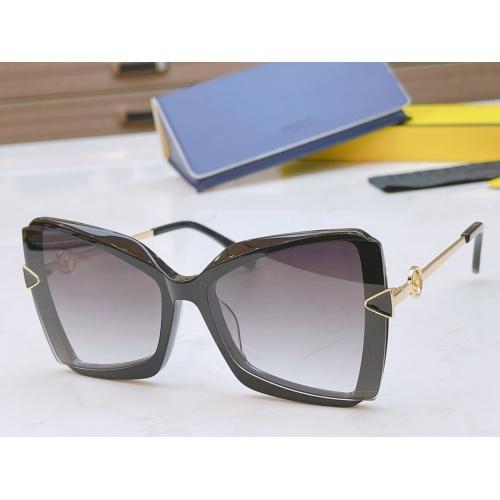Fendi AAA Quality Sunglasses #867888 $50.00 USD, Wholesale Replica Fendi AAA Sunglasses