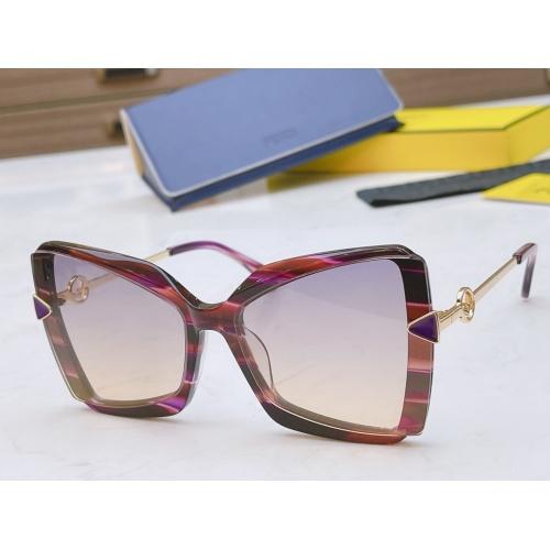 Fendi AAA Quality Sunglasses #867889 $50.00 USD, Wholesale Replica Fendi AAA Sunglasses