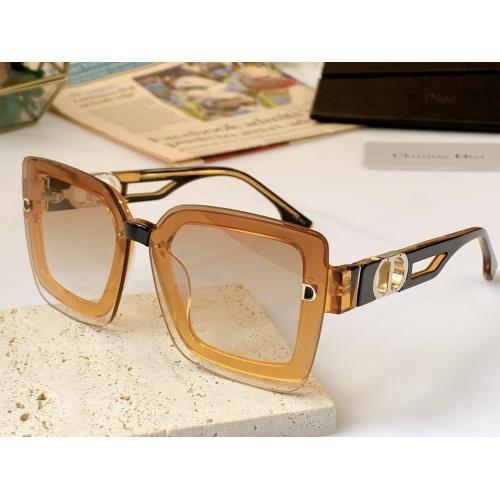 Christian Dior AAA Quality Sunglasses #867893 $56.00 USD, Wholesale Replica Christian Dior AAA Quality Sunglasses