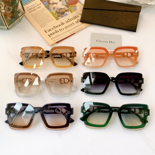 Replica Christian Dior AAA Quality Sunglasses #867893 $56.00 USD for Wholesale