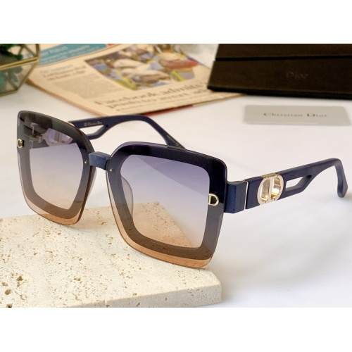Christian Dior AAA Quality Sunglasses #867896 $56.00 USD, Wholesale Replica Christian Dior AAA Quality Sunglasses