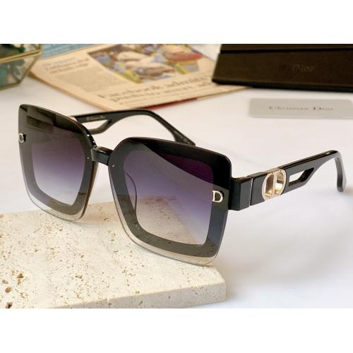 Christian Dior AAA Quality Sunglasses #867897 $56.00 USD, Wholesale Replica Christian Dior AAA Quality Sunglasses