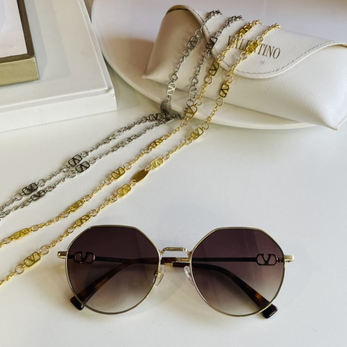 Valentino AAA Quality Sunglasses #867913 $64.00 USD, Wholesale Replica Valentino AAA Sunglasses