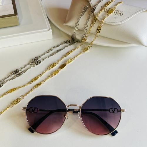 Valentino AAA Quality Sunglasses #867914 $64.00 USD, Wholesale Replica Valentino AAA Sunglasses