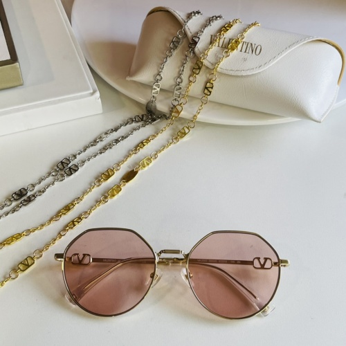 Valentino AAA Quality Sunglasses #867915 $64.00 USD, Wholesale Replica Valentino AAA Sunglasses