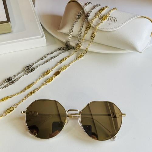 Valentino AAA Quality Sunglasses #867916 $64.00 USD, Wholesale Replica Valentino AAA Sunglasses