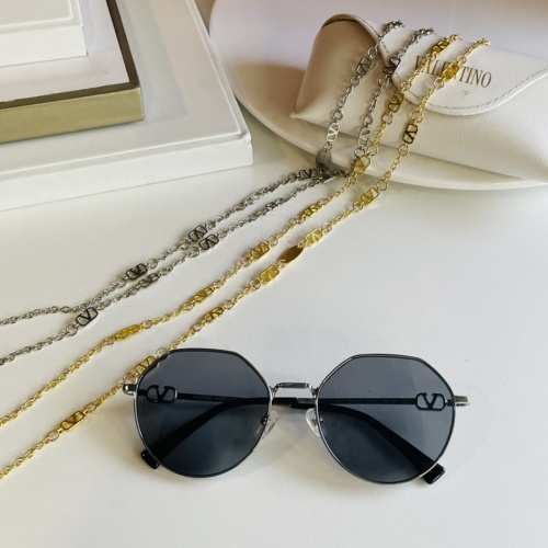 Valentino AAA Quality Sunglasses #867918 $64.00 USD, Wholesale Replica Valentino AAA Sunglasses