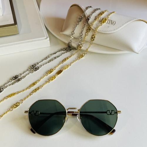 Valentino AAA Quality Sunglasses #867919 $64.00 USD, Wholesale Replica Valentino AAA Sunglasses