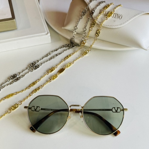 Valentino AAA Quality Sunglasses #867920 $64.00 USD, Wholesale Replica Valentino AAA Sunglasses