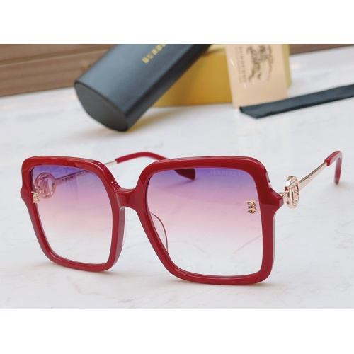 Burberry AAA Quality Sunglasses #867925 $56.00 USD, Wholesale Replica Burberry AAA+ Sunglasses