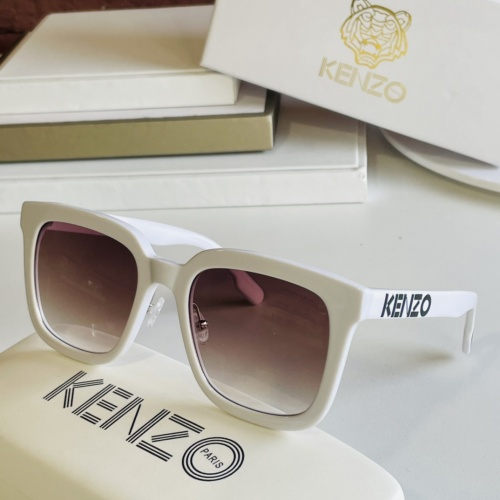 Kenzo AAA Quality Sunglasses #867937 $60.00 USD, Wholesale Replica Kenzo AAA Quality Sunglasses