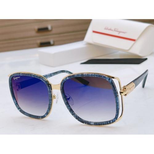 Ferragamo Salvatore FS AAA Quality Sunglasses #867940 $64.00 USD, Wholesale Replica Ferragamo AAA Quality Sunglasses