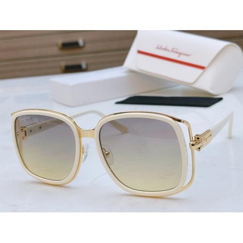 Ferragamo Salvatore FS AAA Quality Sunglasses #867941 $64.00 USD, Wholesale Replica Ferragamo AAA Quality Sunglasses