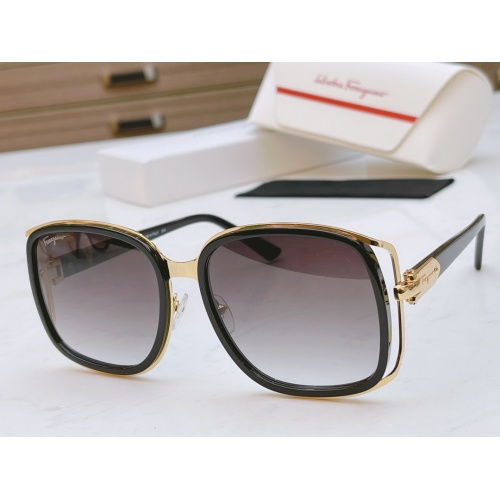Ferragamo Salvatore FS AAA Quality Sunglasses #867942 $64.00 USD, Wholesale Replica Ferragamo AAA Quality Sunglasses